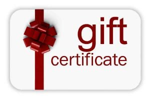 Gift Certificate for Private Music Lessons
